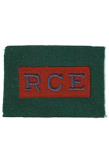 Royal Canadian Engineers - 4th Can Arm Div Patch