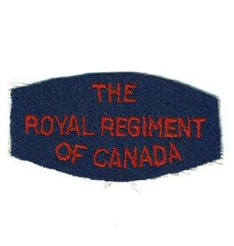 RR of Canada Embleem