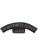 The Westminster Regiment - Shoulder Flash