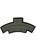 49th Loyal Edmonton Regt - Schouder Embleem