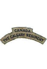 The Calgary Regiment Shoulder Flash