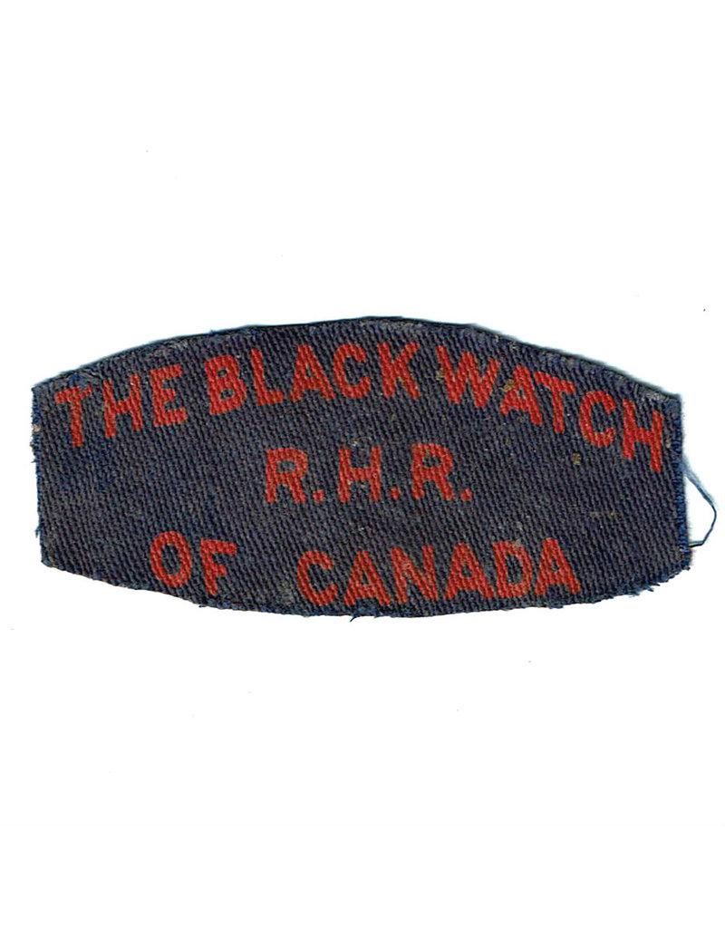 Black Watch of Canada Embleem