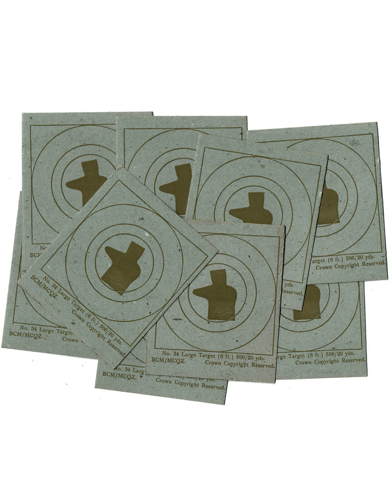 Canadian Cardboard Targets - For training