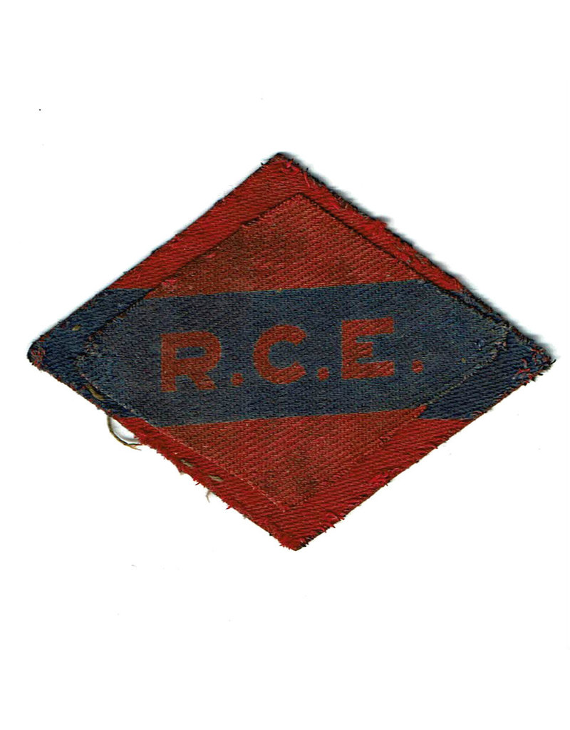 Royal Canadian Engineers - 1st Canadian Army - Printed Shoulder Patch