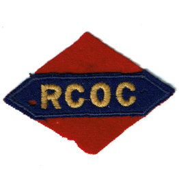 RCOC - 1st Canadian Army