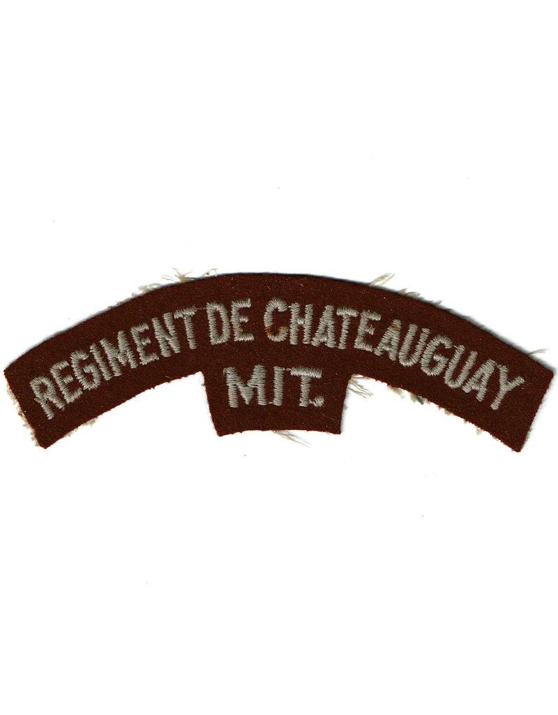 Regiment de Châteauguay - Schouder Embleem