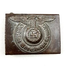 Waffen SS Belt Buckle - RZM 155/40