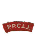 Princess Patricia's Canadian Light Infantry - Gedrukt Embleem
