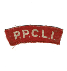PPCLI Shoulder Flash
