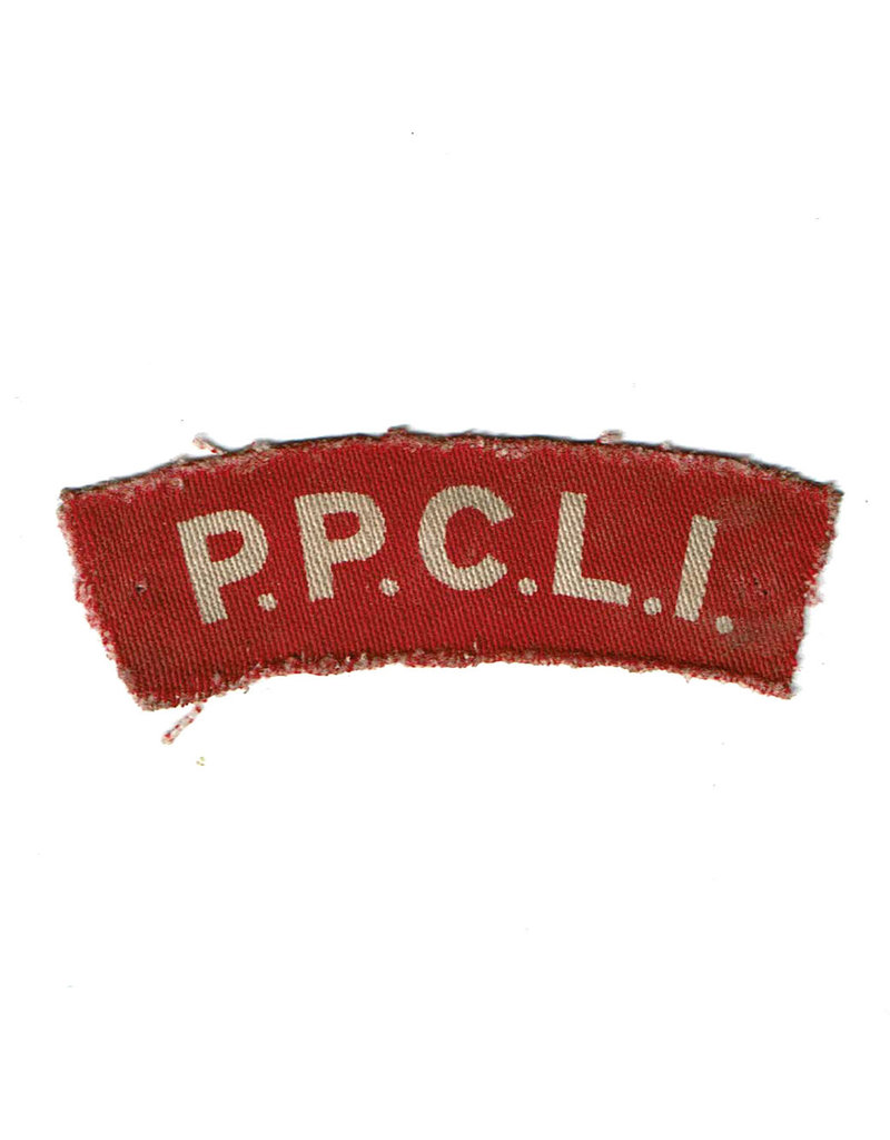 Princess Patricia's Canadian Light Infantry - Printed Shoulder Flash