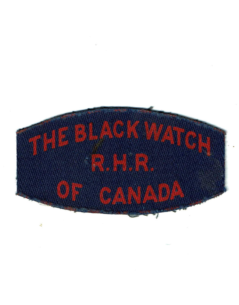 Black Watch of Canada Shoulder Flash