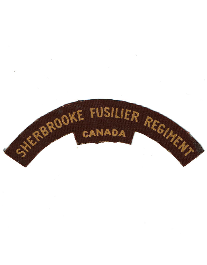 Sherbrooke Fusiliers Regiment - Printed Flash