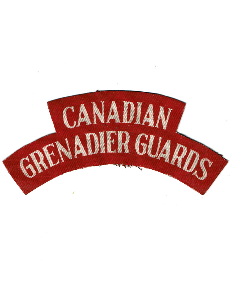 Canadian Grenadier Guards - shoulder flash