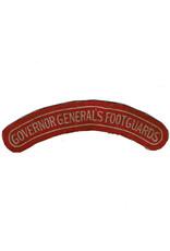 Governor General's Foot Guards - shoulder flash