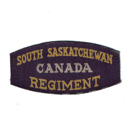 South Saskatchewan Regiment- Printed