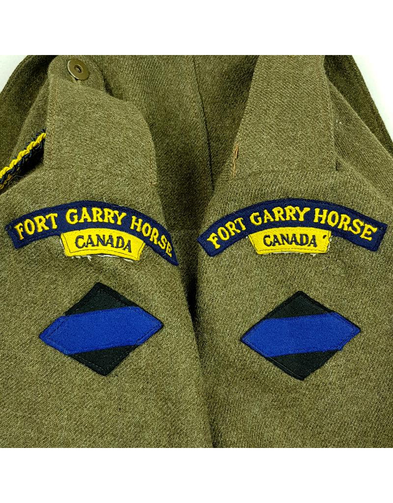Fort Garry Horse - Battledress with Beret