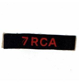 7th -RCA
