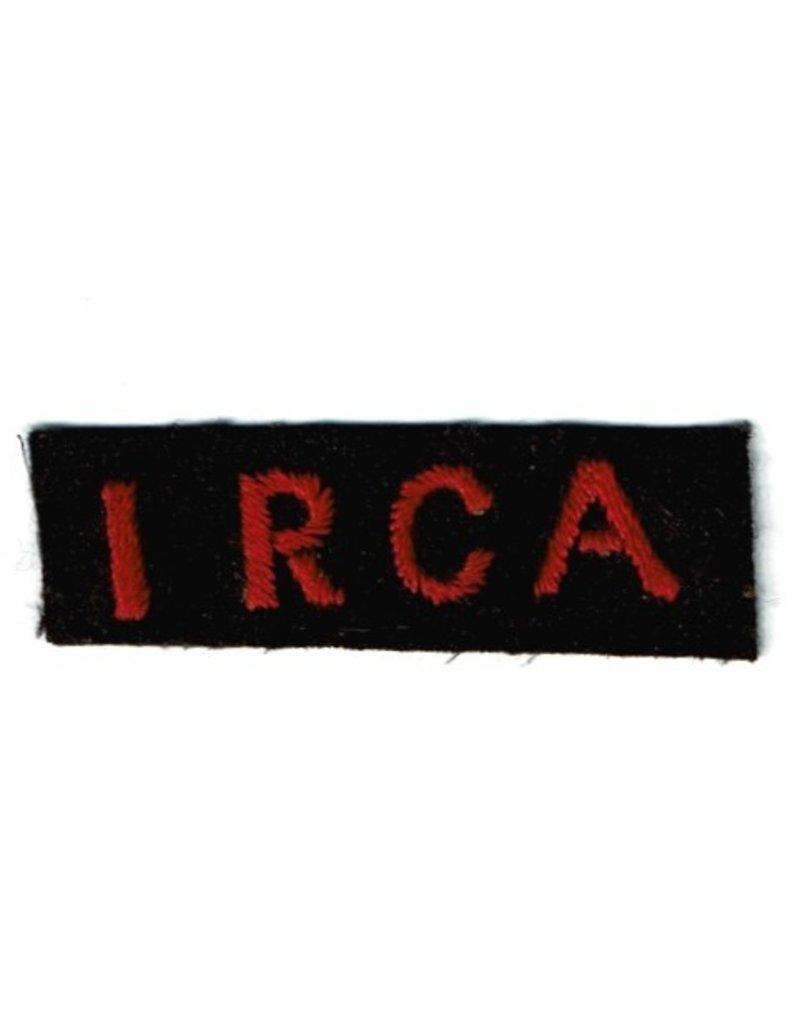 1st Field Regiment - RCA - Shoulder Flash
