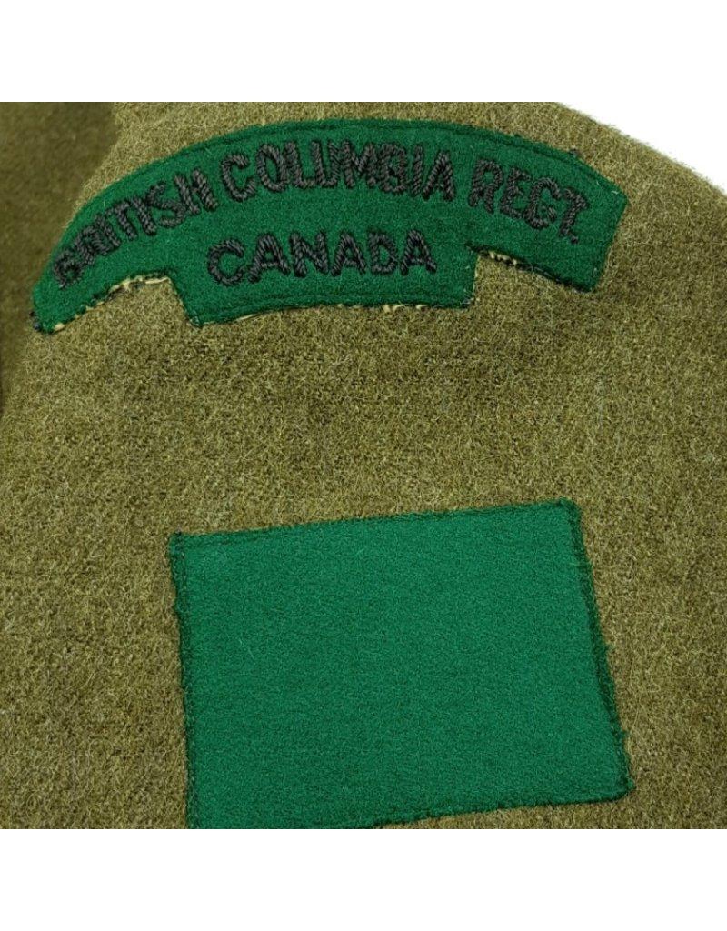 Battledress British Columbia Regiment - 1944