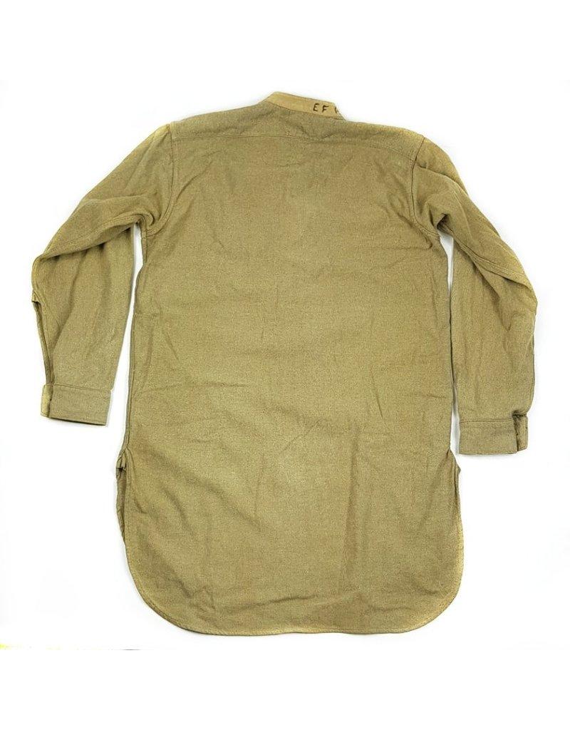 Brits Kraagloos Shirt