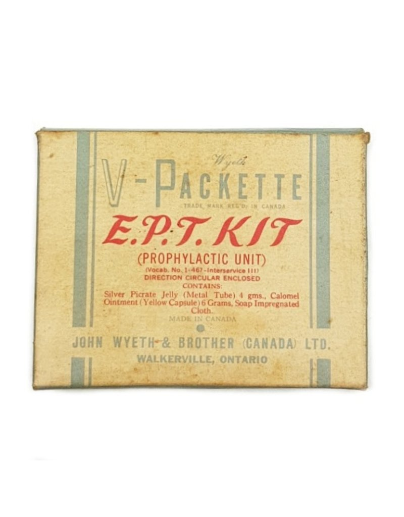 Canadian WW2 V-Packette / EPT Kit