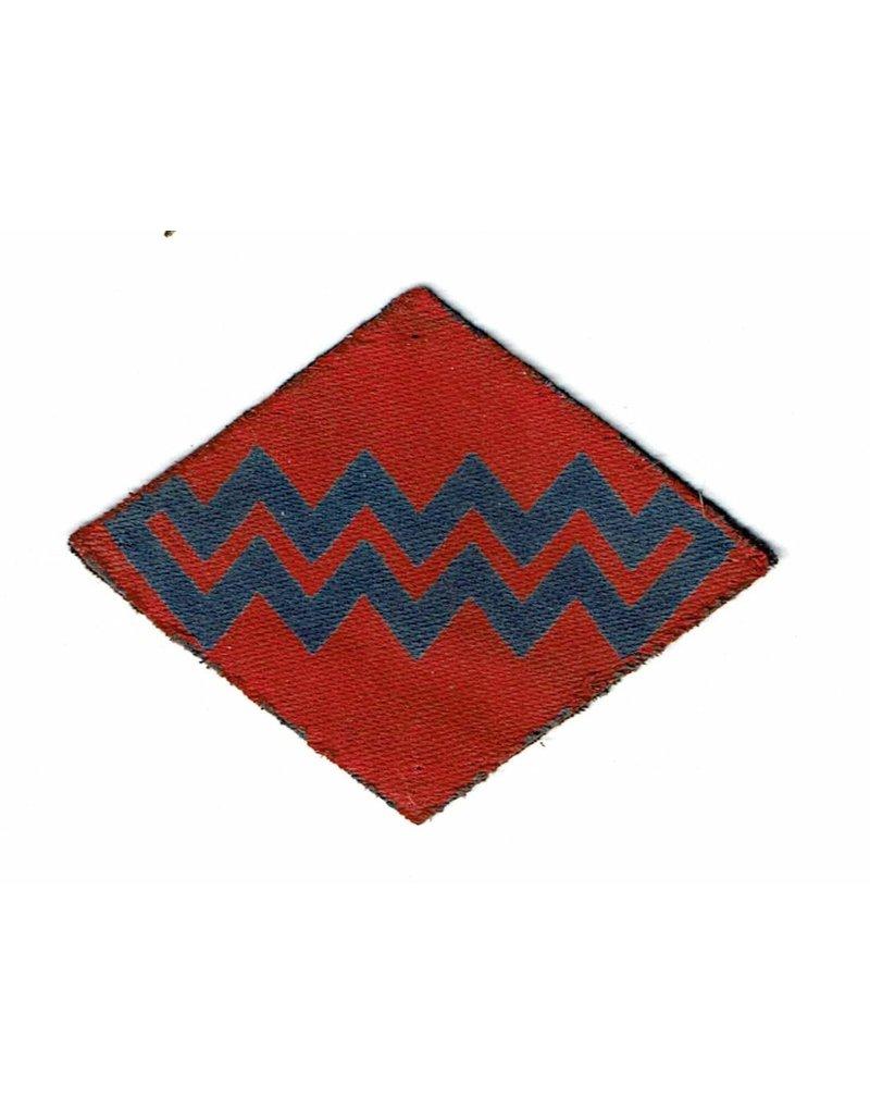 Royal Canadian Artillery, 1st Corps - Printed Badge