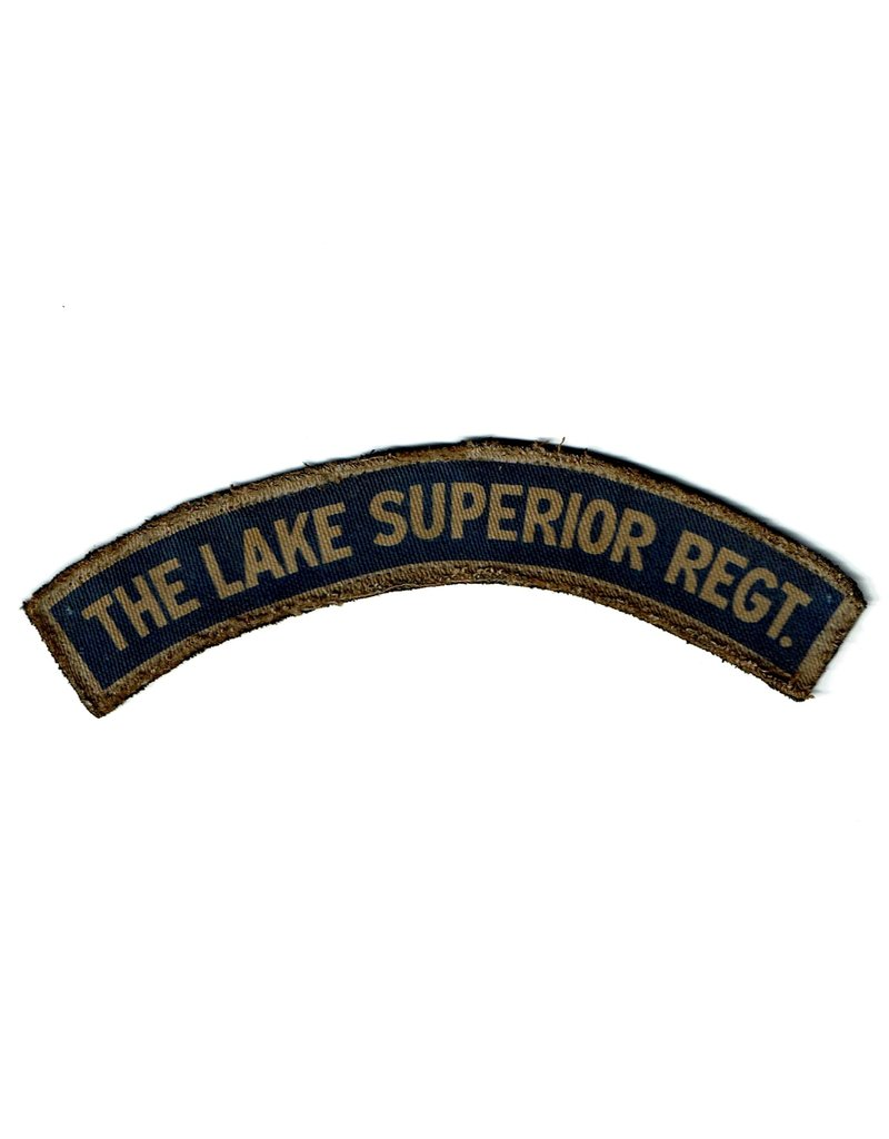 Lake Superior Regiment, shoulder flash