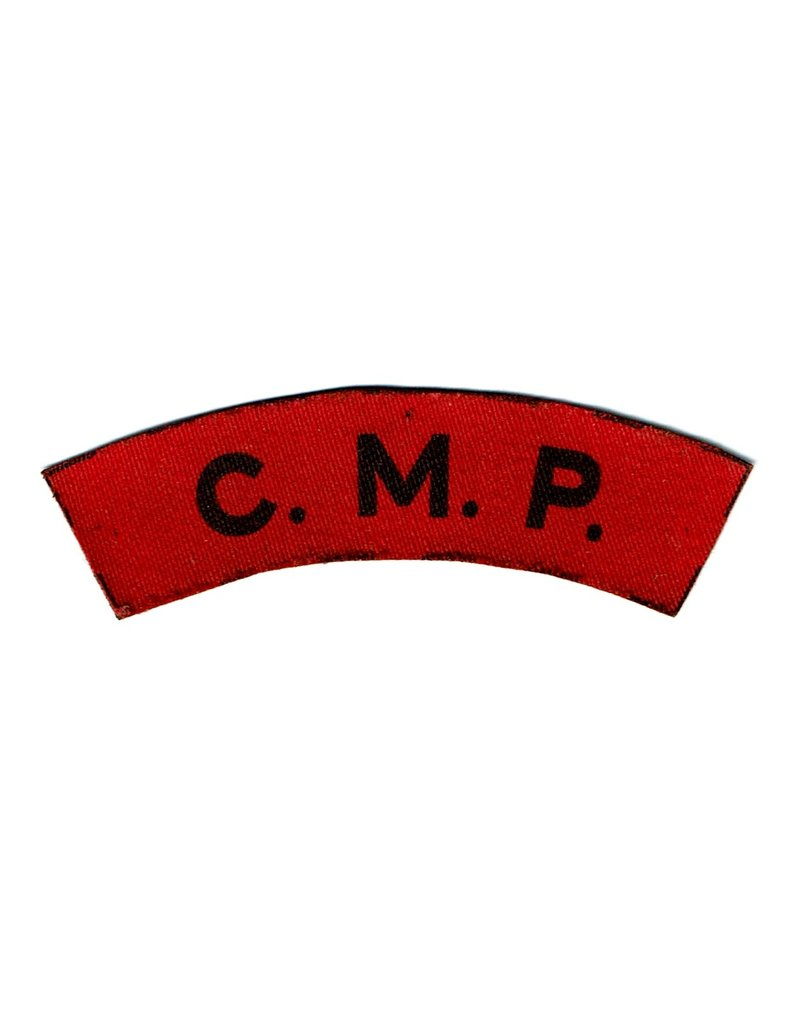 Corps of Military Police - Shoulder flash