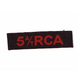 5th A/T -RCA