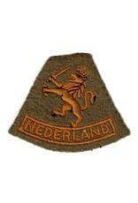 Engelse WO2 Aanmaak Embleem - Nederlandse Leger