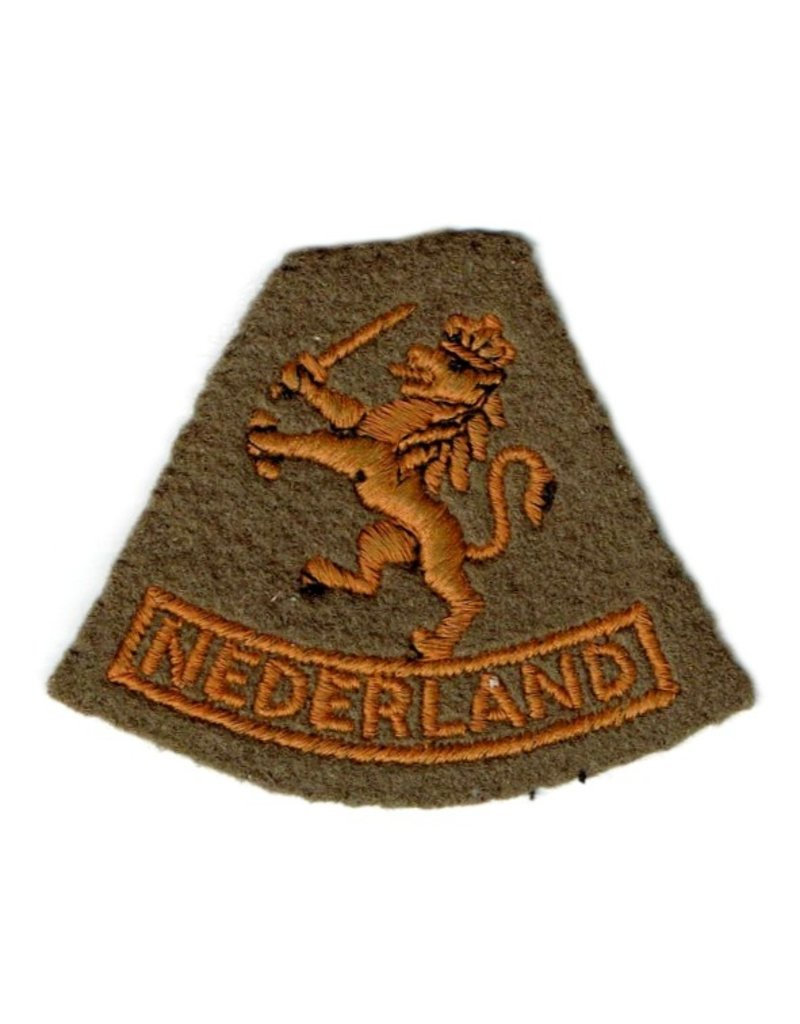 British Made Patch - Dutch Free Forces