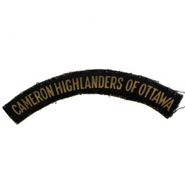 Cameron Highlanders of Ottawa