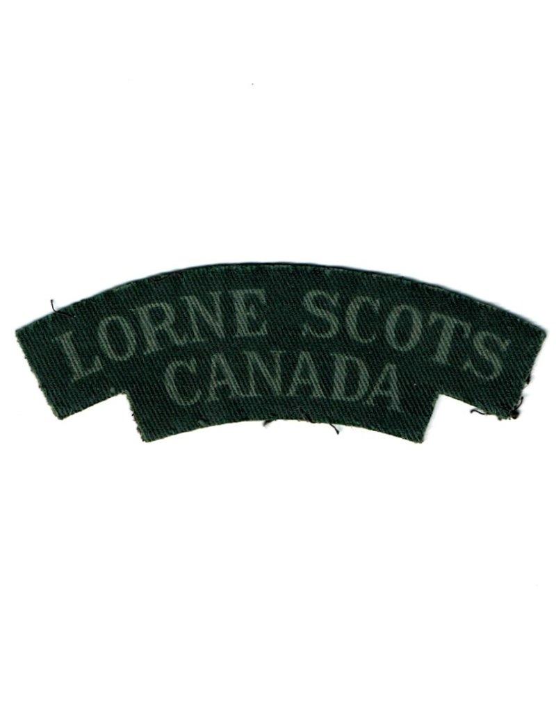 Lorne Scots - Printed Shoulder Flash.