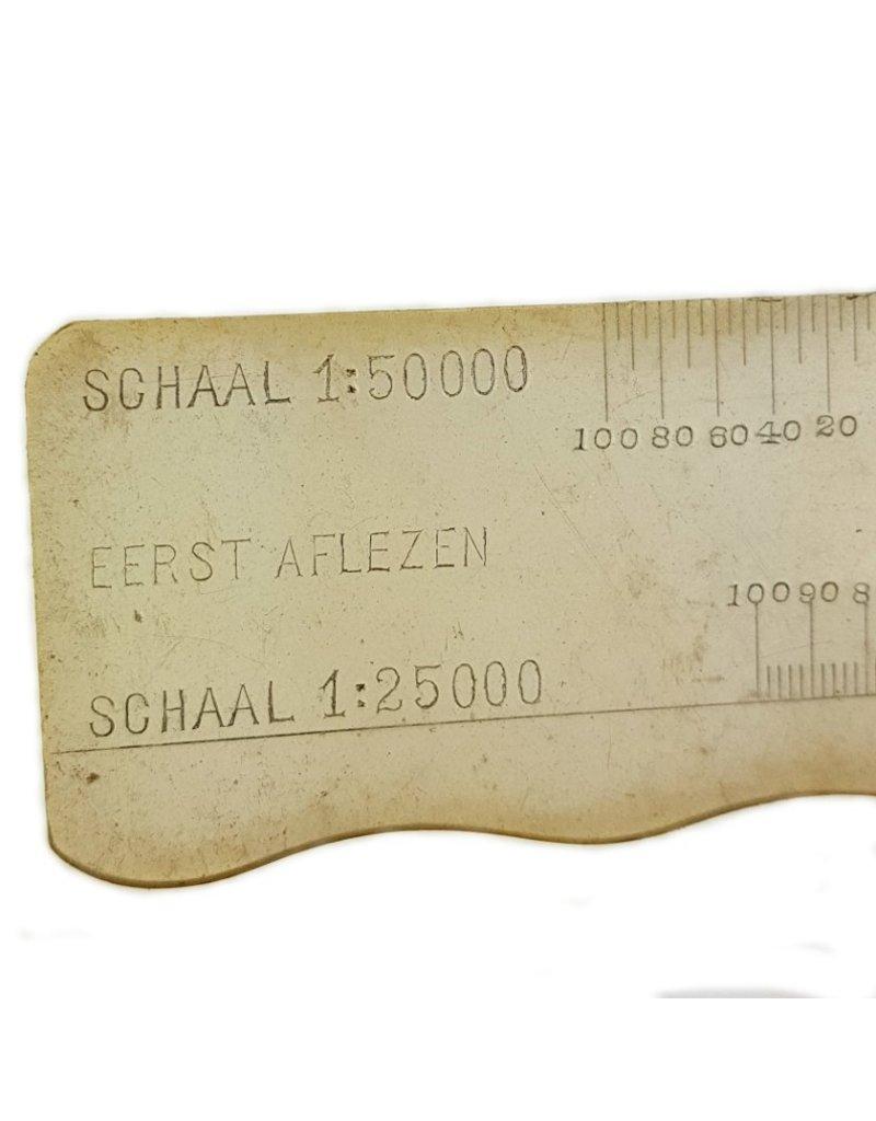 Dutch Plastic Ruler pre 1940