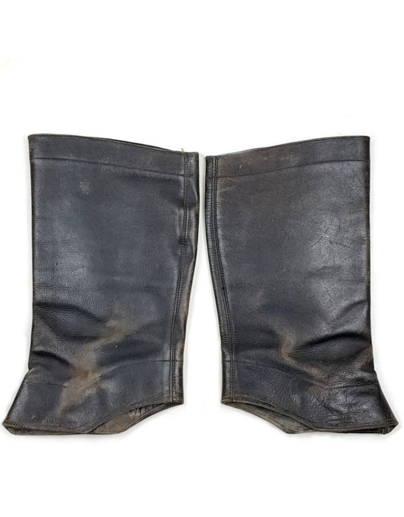 Dutch Leather Gaiters - CM 1940