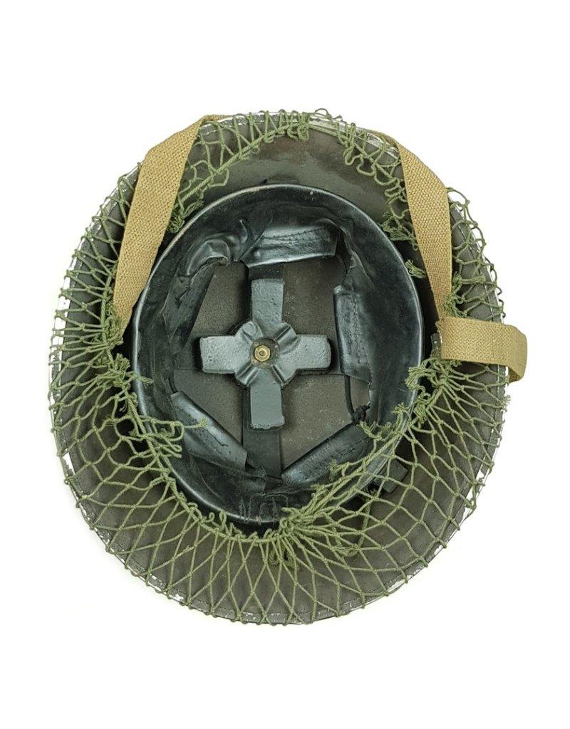 WO2 Britse/Canadese MkIII Helm met Netje
