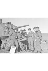 Vroege Canadese WO2 Tank Baret (1943)