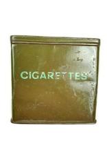 WO2 Engelse Sigaretten Blikje - Broekzak Model.