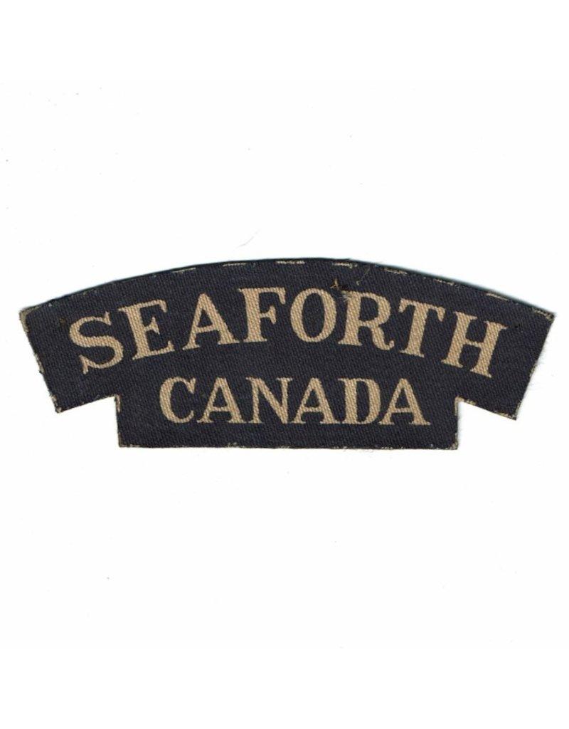 Seaforth Highlanders of Canada - Schouder Embleem Gedrukt