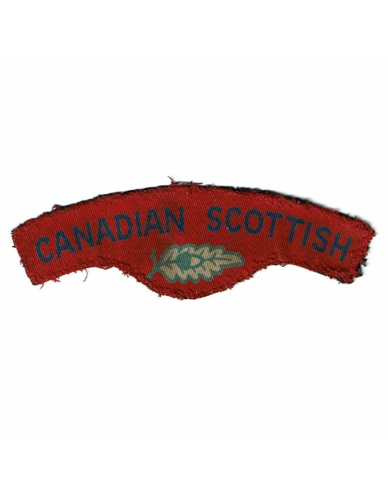Canadian Scottish Regiment - Printed Shoulder Flash