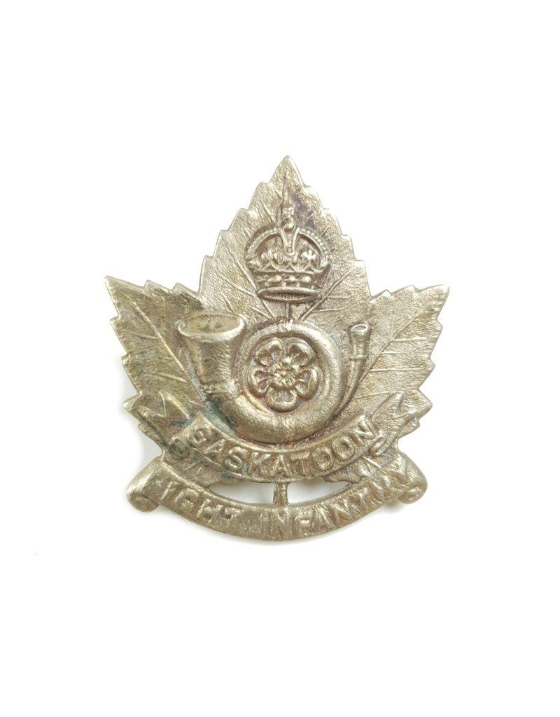 Saskatoon Light Infantry - Capbadge