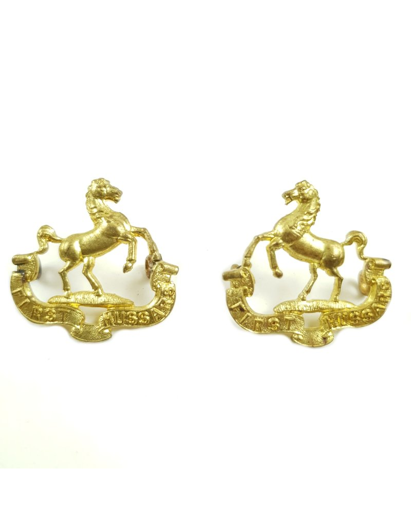 1st Hussars - Collar Badges
