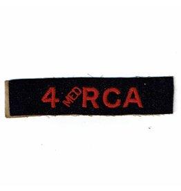4th Med -RCA