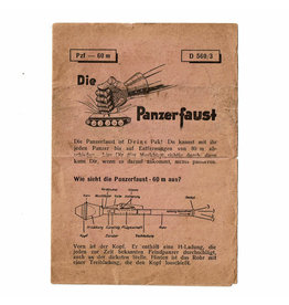 Panzerfaust Instruction Leaflet