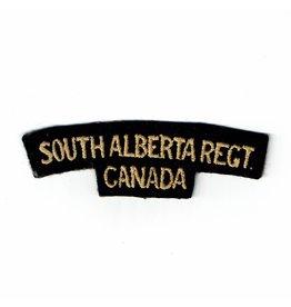 South Alberta Regt.