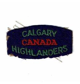 Calgary Highlanders Embleem