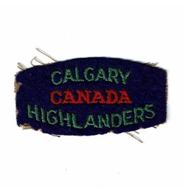 Calgary Highlanders Flash
