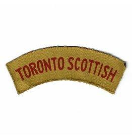 Toronto Scottish Embleem