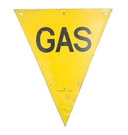British WW2 Gas Sign