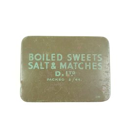 British Chocolate & Boiled Sweets Ration Tin